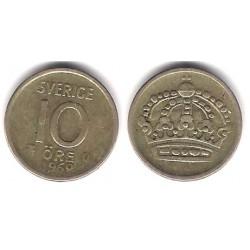 (823) Suecia. 1962. 10 Ore (BC+) (Plata)