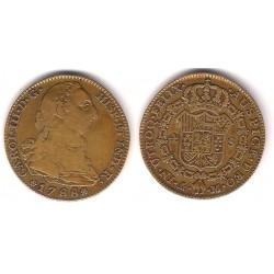 Carlos III. 1788. 4 Escudos (MBC-) (Oro) Ceca de Madrid M