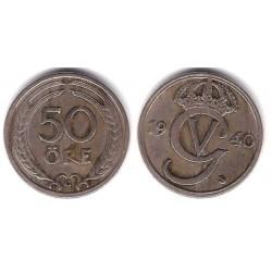 (796) Suecia. 1940. 50 Ore (MBC+)