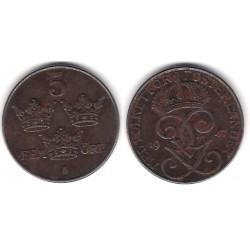 (812) Suecia. 1947. 5 Ore (BC+)