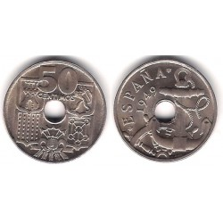 Estado Español. 1949*(19-53). 50 Céntimos (EBC)