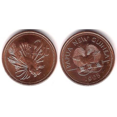 (2) Papúa Nueva Guinea. 1994. 2 Toea (SC)