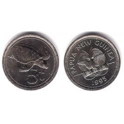 (3) Papúa Nueva Guinea. 1995. 5 Toea (SC)