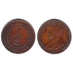 (28) Straits Settlements. 1916. ½ Cent (MBC)