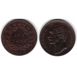 (6) Sarawak. 1886. 1 Cent (MBC+)