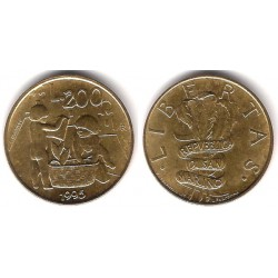 (329) San Marino. 1995. 200 Lira (SC)