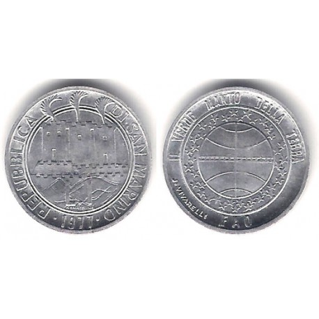 (63) San Marino. 1977. 1 Lira (SC)