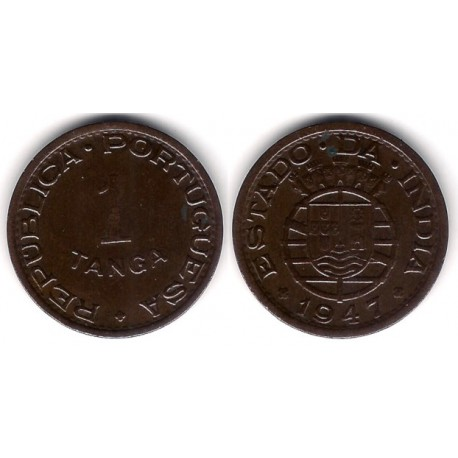 (24) India Portuguesa. 1947. 1 Tanga (MBC+)