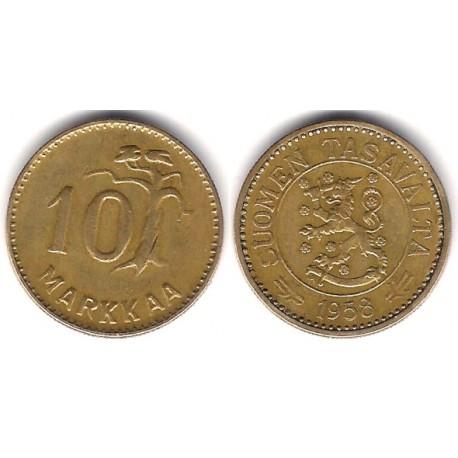 (38) Finlandia. 1953. 10 Markkaa (MBC)