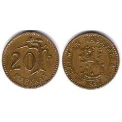 (39) Finlandia. 1957. 20 Markkaa (MBC)
