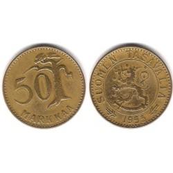 (40) Finlandia. 1953. 50 Markkaa (BC+)
