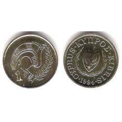 (53.3) Chipre. 1994. 1 Cent (EBC)