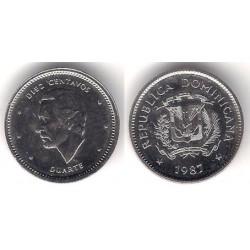 (60) República Dominicana. 1987. 10 Centavos (EBC)