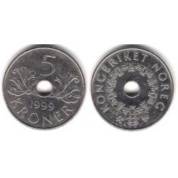 (463) Noruega. 1999. 5 Kroner (MBC)