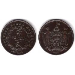 (2) Borneo (Británica). 1890. 1 Cent (MBC)