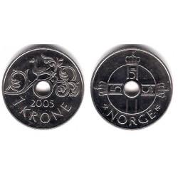 Noruega. 2005. 1 Krone (EBC)