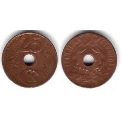 España (II República). 1938. 25 Céntimos (BC)