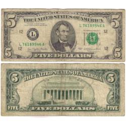 (463a) Estados Unidos de América. 1977. 5 Dollars (BC)