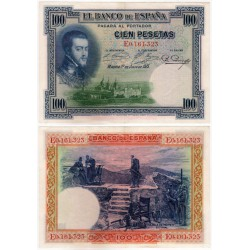 España. 1925. 100 Pesetas (EBC) Serie E