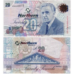 (207b) Irlanda del Norte. 2006. 20 Pounds (EBC)