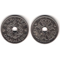 (869.1) Dinamarca. 1999. 5 Kroner (MBC)