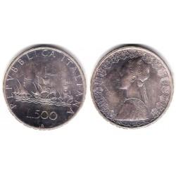 (98) Italia. 1970. 500 Lira (EBC+) (Plata)