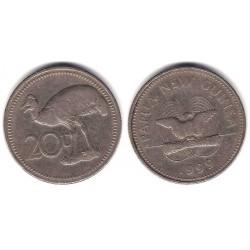 (5) Papúa Nueva Guinea. 1999. 20 Toea (MBC)