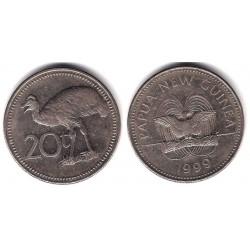 (5) Papúa Nueva Guinea. 1999. 20 Toea (MBC+)
