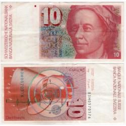 (53e) Suiza. 1983. 10 Francs (MBC)