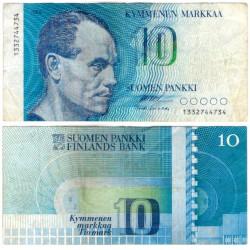 (113a) Finlandia. 1986. 10 Markkaa (MBC-)