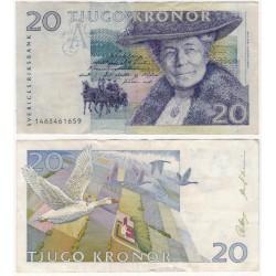 (61a) Suecia. 1991. 20 Kronor (MBC)