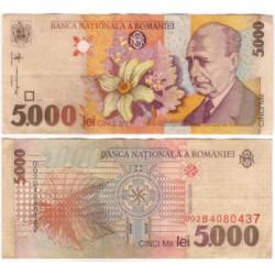 (107a) Rumania. 1998. 5000 Lei (MBC)