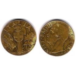 (74a) Italia. 1941. 10 Centesimi (MBC-)