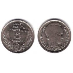(887) Francia. 1933. 5 Francs (EBC)