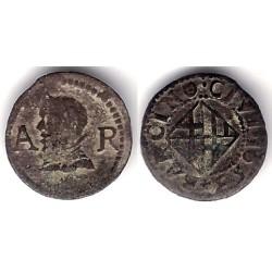 Felipe IV. 1653. Ardite (BC+) Ceca de Barcelona AR