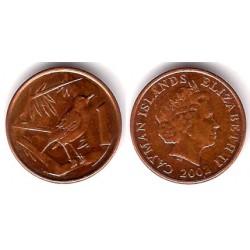 (131) Islas Caimán. 2002. 1 Cent (MBC)