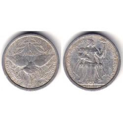 (2) Nueva Caledonia. 1949. 1 Franc (BC)