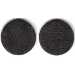 Isabel II. 1811. 3 Cuartos (BC-) Ceca de Cataluña