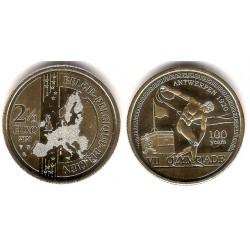 Bélgica. 2020. 2½ Euro (SC)