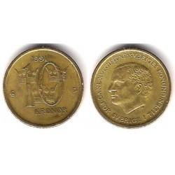 (877) Dinamarca. 1991. 10 Kronor (MBC)