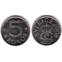 (853a) Suecia. 2008. 5 Kronor (MBC)