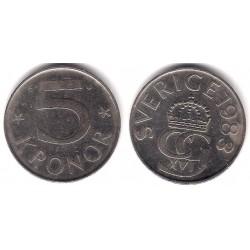 (853) Suecia. 1983. 5 Kronor (BC)