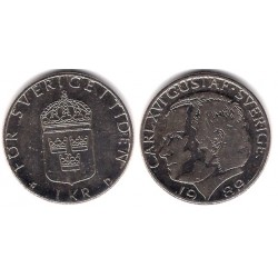 (852a) Suecia. 1989. 1 Krona (MBC)