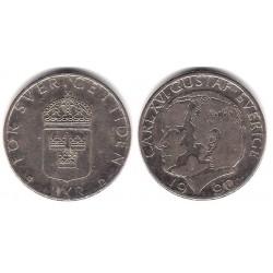 (852a) Suecia. 1990. 1 Krona (MBC)