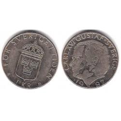 (852a) Suecia. 1997. 1 Krona (MBC)
