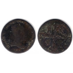 Isabel II. 1841. 8 Maravedi (RC) Ceca de Segovia
