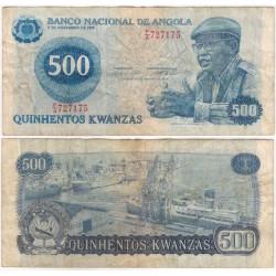 (116) Angola. 1979. 500 Kwanzas (BC)