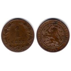 (107) Países Bajos. 1882. 1 Cent (MBC)