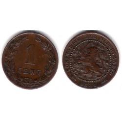 (107) Países Bajos. 1881. 1 Cent (EBC)