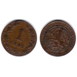 (107) Países Bajos. 1880. 1 Cent (MBC-)